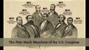first blacks in congress