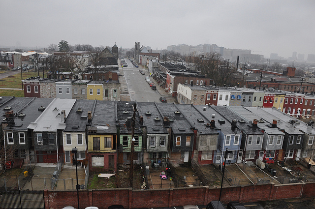 Baltimore's impoverished community
