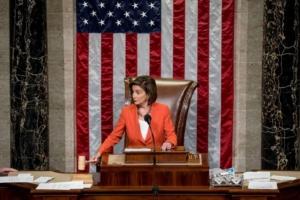 speaker pelosi gavel impeachment vote