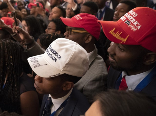 young blacks with MAGA