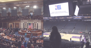 the Congress is opened while American sports is closed due to coronavirus