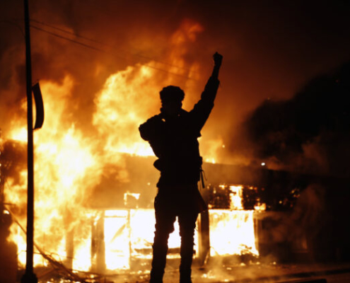 America burns under Marxist protest