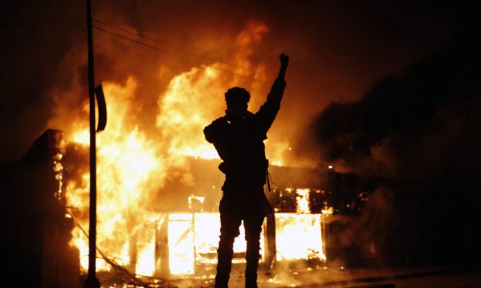 America burns under Marxist protest